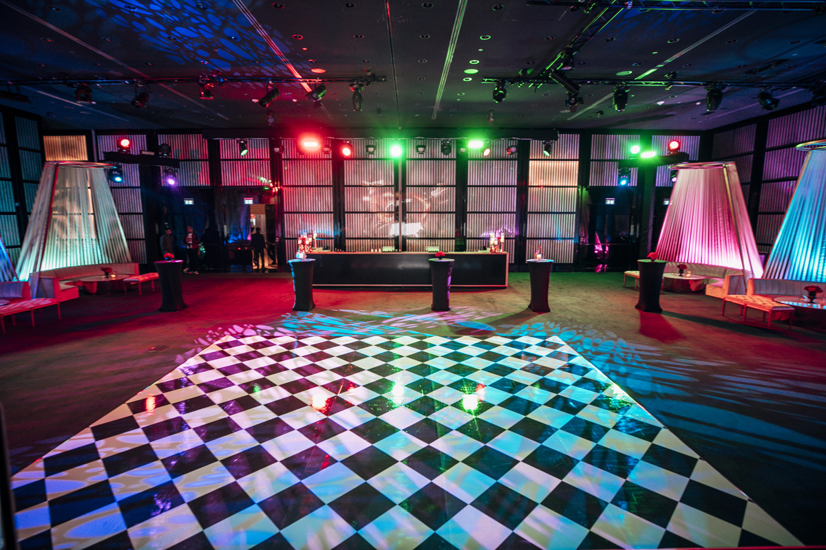 Dance Floor Gala Dinner
