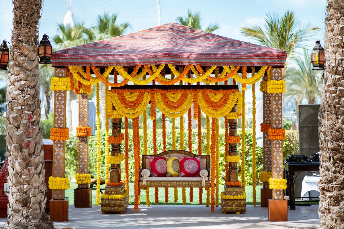Ritz Carlton JBR Mhendi Ceremony Indina Sikh Event