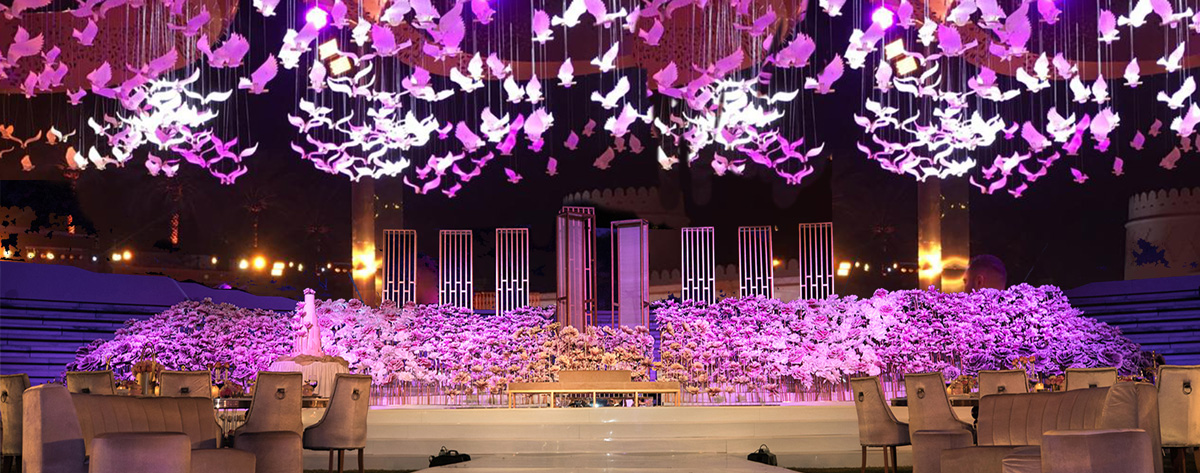 Panaroma Wedding Decor