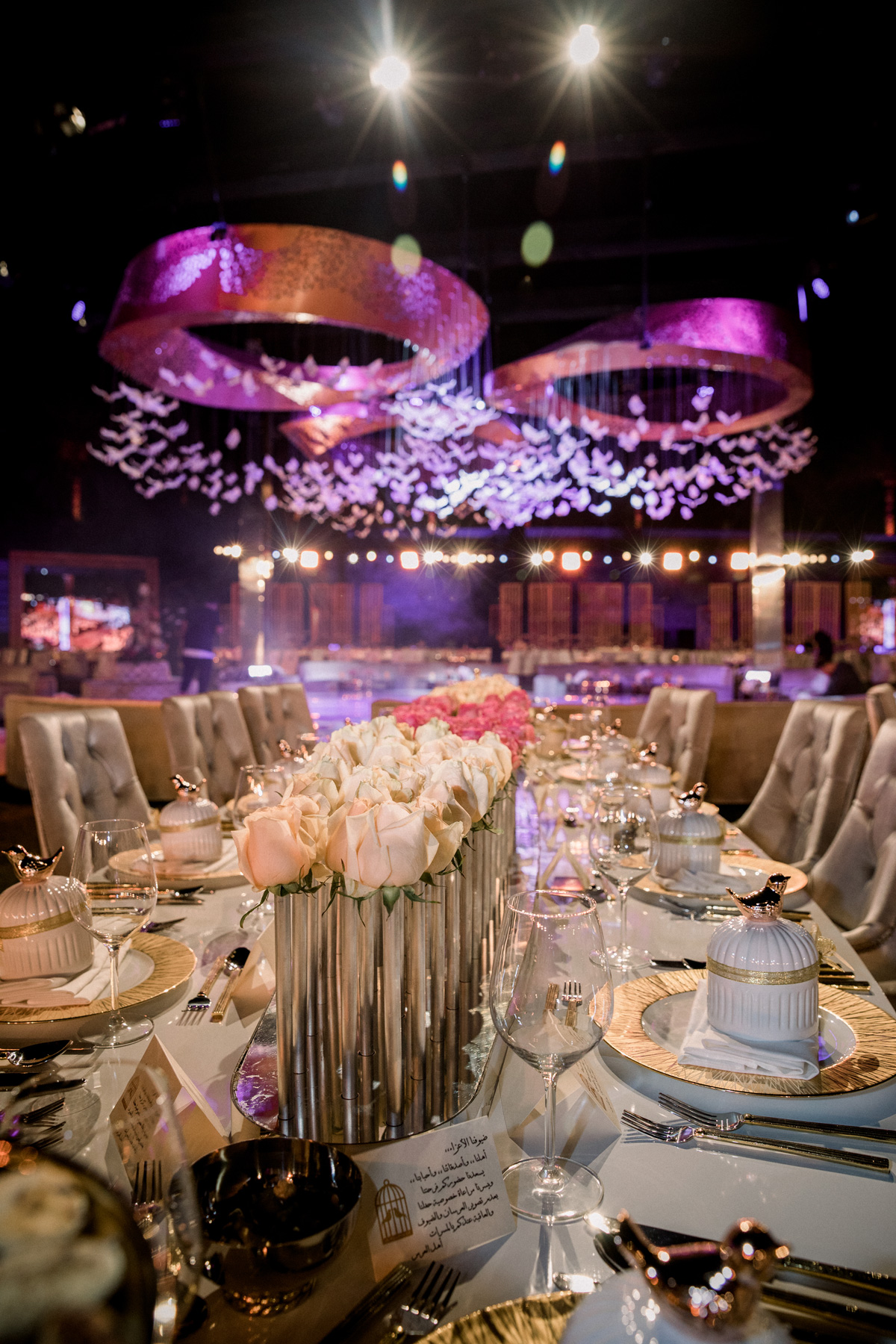 Long Table Wedding Decor