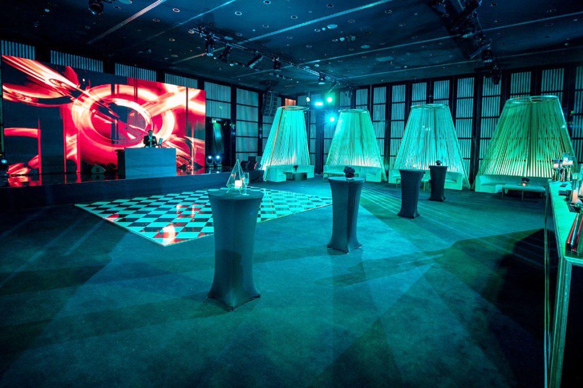 Club Decor Armani Ballroom