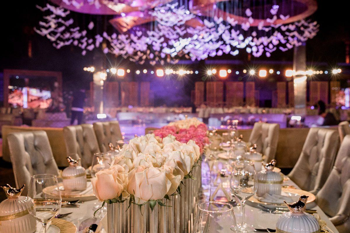 Long Table Wedding Decor
